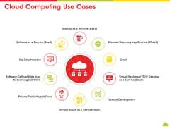 Mesh Computing Technology Hybrid Private Public Iaas Paas Saas Workplan Cloud Computing Use Cases Brochure PDF