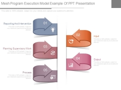 Mesh Program Execution Model Example Of Ppt Presentation