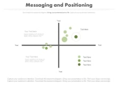 Messaging And Positioning Line Chart Ppt Slides