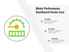 Meter Performance Dashboard Vector Icon Ppt PowerPoint Presentation Gallery Backgrounds PDF