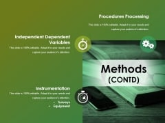 Methods Contd Ppt Powerpoint Presentation Summary Display