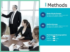 Methods Ppt PowerPoint Presentation Slide
