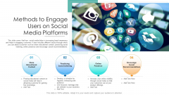 Methods To Engage Users On Social Media Platforms Ppt PowerPoint Presentation Summary Files PDF