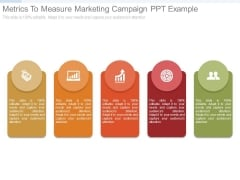 Metrics To Measure Marketing Campaign Ppt Example