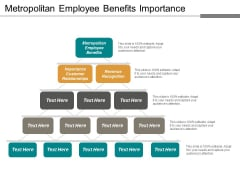 Metropolitan Employee Benefits Importance Customer Relationships Revenue Recognition Ppt PowerPoint Presentation Inspiration Layouts