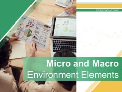 Micro And Macro Environment Elements Ppt PowerPoint Presentation Complete Deck With Slides