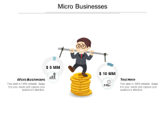Micro Businesses Ppt Powerpoint Presentation Slides Visual Aids Cpb