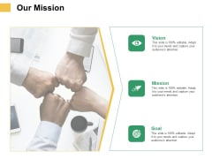 Micro Macro Environment Elements Our Mission Ppt Infographics Example Introduction PDF