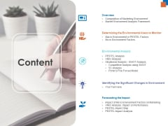 Micro Macro Environment Research Content Ppt Styles Graphic Images PDF