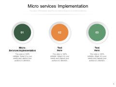 Micro Services Implementation Ppt PowerPoint Presentation Infographic Template Styles Cpb