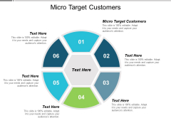 Micro Target Customers Ppt Powerpoint Presentation Professional Graphics Pictures Cpb