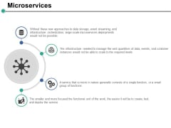 Microservices Ppt PowerPoint Presentation Slides Styles