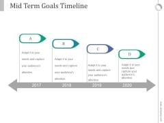 Mid Term Goals Timeline Ppt PowerPoint Presentation Example