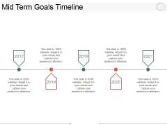 Mid Term Goals Timeline Ppt PowerPoint Presentation Inspiration Layout Ideas