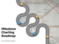 Milestone Charting Roadmap Business Goals Ppt PowerPoint Presentation Complete Deck