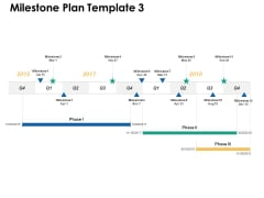 Milestone Plan Liner Process Ppt PowerPoint Presentation Ideas Format Ideas
