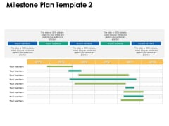 Milestone Plan Strategy Management Ppt PowerPoint Presentation Show Background