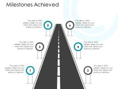 Milestones Achieved Ppt PowerPoint Presentation Ideas Background Image