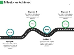 Milestones Achieved Ppt PowerPoint Presentation Outline Design Inspiration