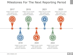 Milestones For The Next Reporting Period Template 1 Ppt PowerPoint Presentation Styles Clipart