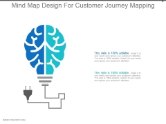 Mind Map Design For Customer Journey Mapping Ppt Design