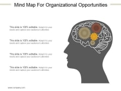 Mind Map For Organizational Opportunities Ppt PowerPoint Presentation Infographics