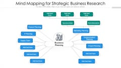 Mind Mapping For Strategic Business Research Ppt Icon Structure PDF