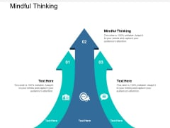 Mindful Thinking Ppt PowerPoint Presentation Infographics Visuals Cpb