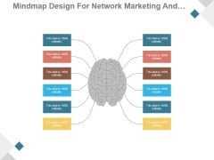 Mindmap Design For Network Marketing And Business Networking Ppt PowerPoint Presentation Show