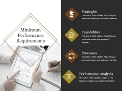 Minimum Performance Requirements Ppt PowerPoint Presentation Graphics