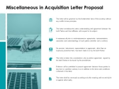 Miscellaneous In Acquisition Letter Proposal Ppt Powerpoint Presentation Infographics Layout