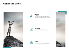 Mission And Vision Goal Ppt PowerPoint Presentation Portfolio Tips