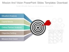 Mission And Vision Powerpoint Slides Templates Download