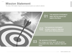 Mission Statement Ppt PowerPoint Presentation Guidelines