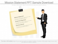 Mission Statement Ppt Sample Download