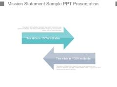 Mission Statement Sample Ppt Presentation