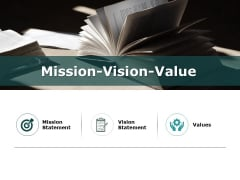 Mission Vision Value Ppt PowerPoint Presentation Styles Show