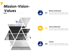 Mission Vision Values Ppt PowerPoint Presentation Infographic Template Images