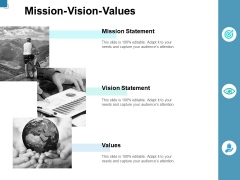 Mission Vision Values Ppt PowerPoint Presentation Model Picture