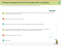 Mitigating Impact COVID Food Agriculture Sector Strategic Management And Partnerships With Competitors Graphics PDF