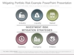 Mitigating Portfolio Risk Example Powerpoint Presentation
