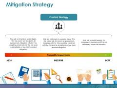 Mitigation Strategy Ppt PowerPoint Presentation Visuals