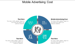 Mobile Advertising Cost Ppt PowerPoint Presentation Portfolio Icon Cpb
