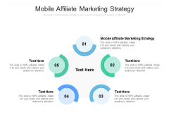 Mobile Affiliate Marketing Strategy Ppt PowerPoint Presentation Styles Show Cpb