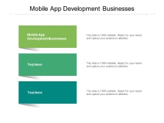 Mobile App Development Businesses Ppt PowerPoint Presentation Professional Icon Cpb