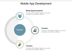 Mobile App Development Ppt PowerPoint Presentation Portfolio Sample Cpb
