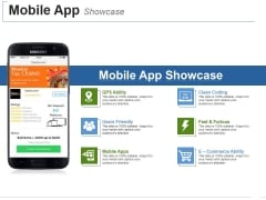 Mobile App Showcase Template 1 Ppt PowerPoint Presentation Ideas Slide Portrait