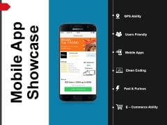Mobile App Showcase Template 1 Ppt PowerPoint Presentation Portfolio Show