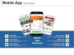 Mobile App Showcase Template 2 Ppt PowerPoint Presentation Model Skills