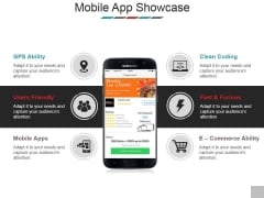 Mobile App Showcase Template 2 Ppt PowerPoint Presentation Styles Brochure